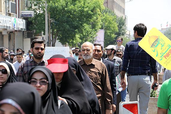 حضور فرمانده سپاه فجر در راهپیمایی روز جهانی قدس/ تصاویر خبری